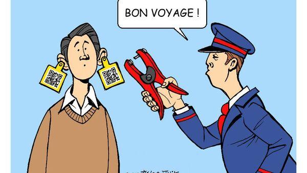 Pass sanitaire: les bracelets distribués par la SNCF font polémique - Sputnik France
