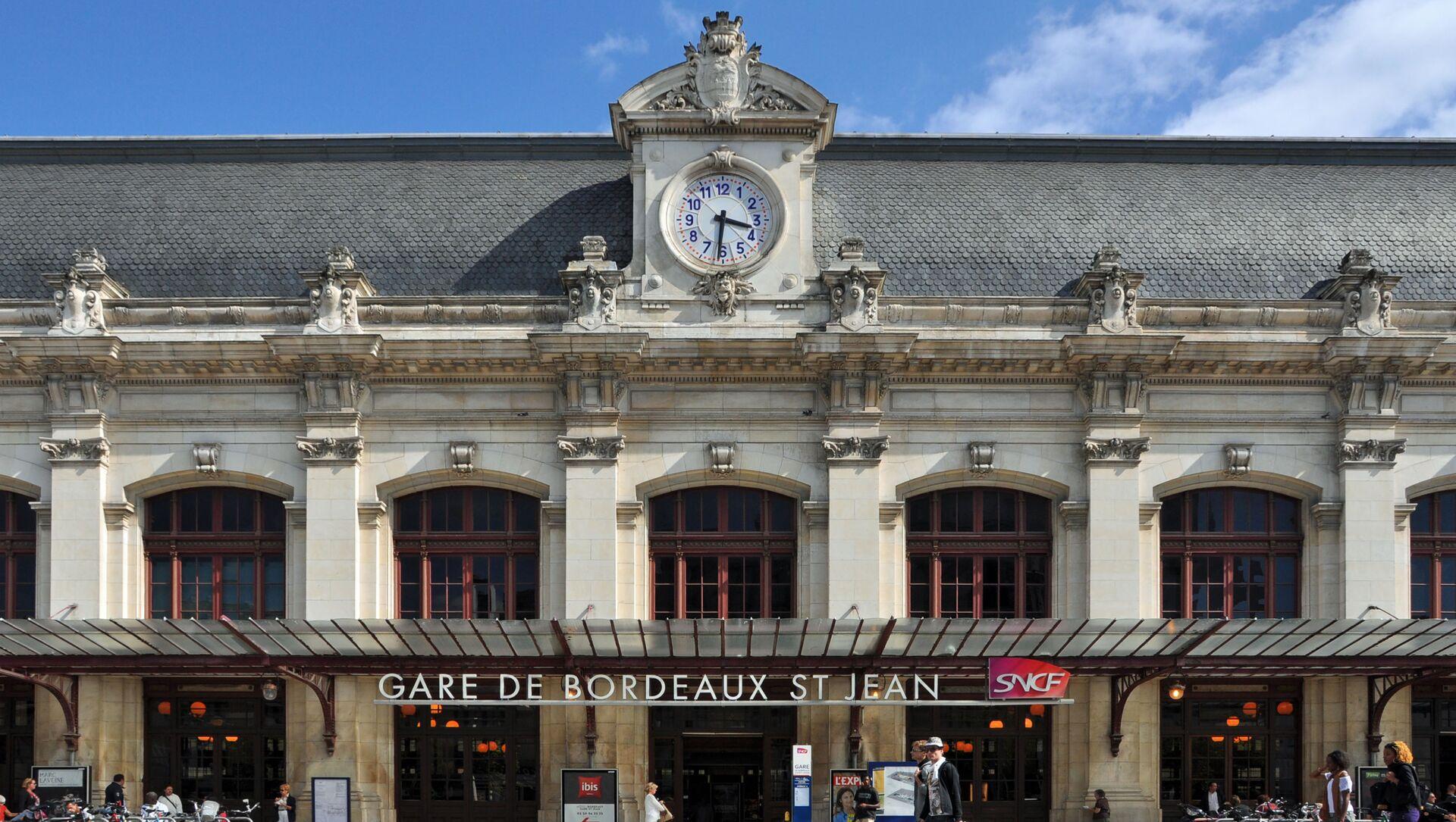 Gare Bordeaux Saint-Jean, Bordeaux, Nouvelle-Aquitaine - Sputnik France, 1920, 10.08.2021