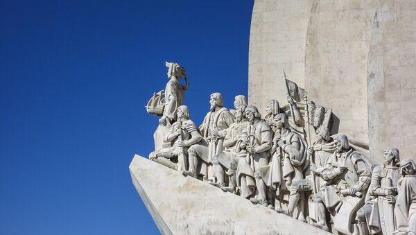 Le monument des Découvertes à Lisbonne - Sputnik France