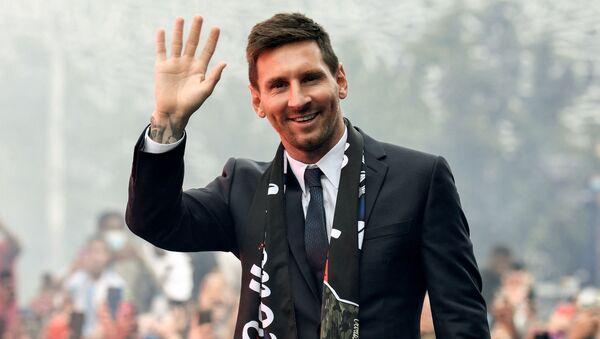 Lionel Messi à Paris, le 11 août - Sputnik France