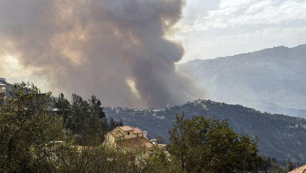 L'Algérie ravagée par des incendies - Sputnik France
