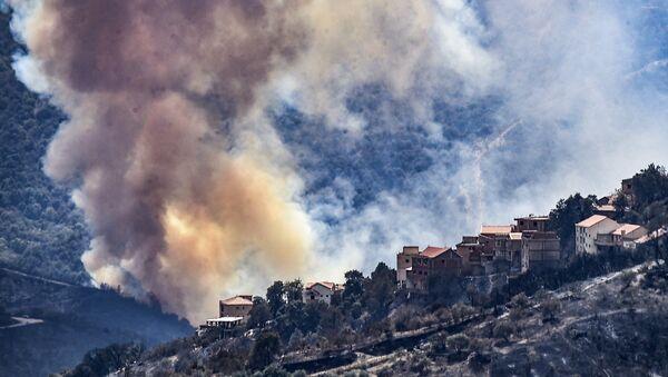incendies en Algérie - Sputnik France