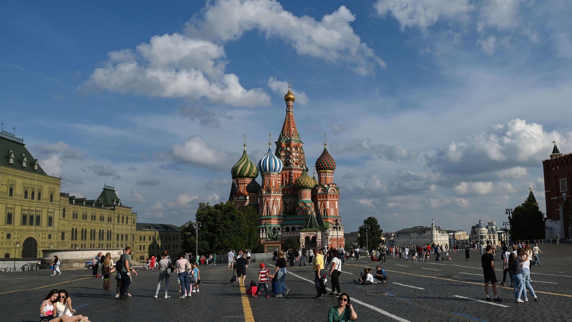 Moscou, la place Rouge, le 29 juillet 2021 - Sputnik France, 1920, 13.08.2021