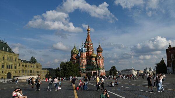 Moscou, la place Rouge, le 29 juillet 2021 - Sputnik France