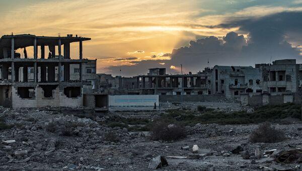 La situation à Raqqa  - Sputnik France