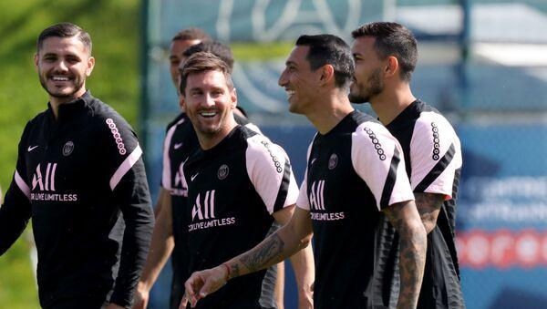 Les premiers jours de Lionel Messi au PSG - Sputnik France