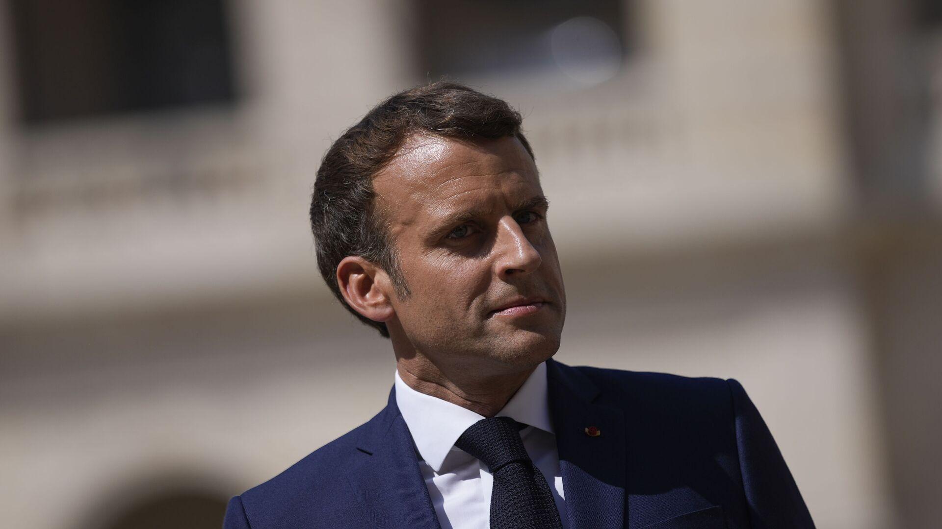Emmanuel Macron - Sputnik France, 1920, 20.09.2021