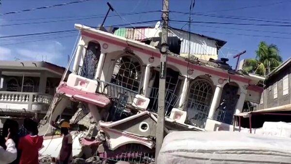 Conséquences du séisme du 14 août 2021 en Haïti - Sputnik France