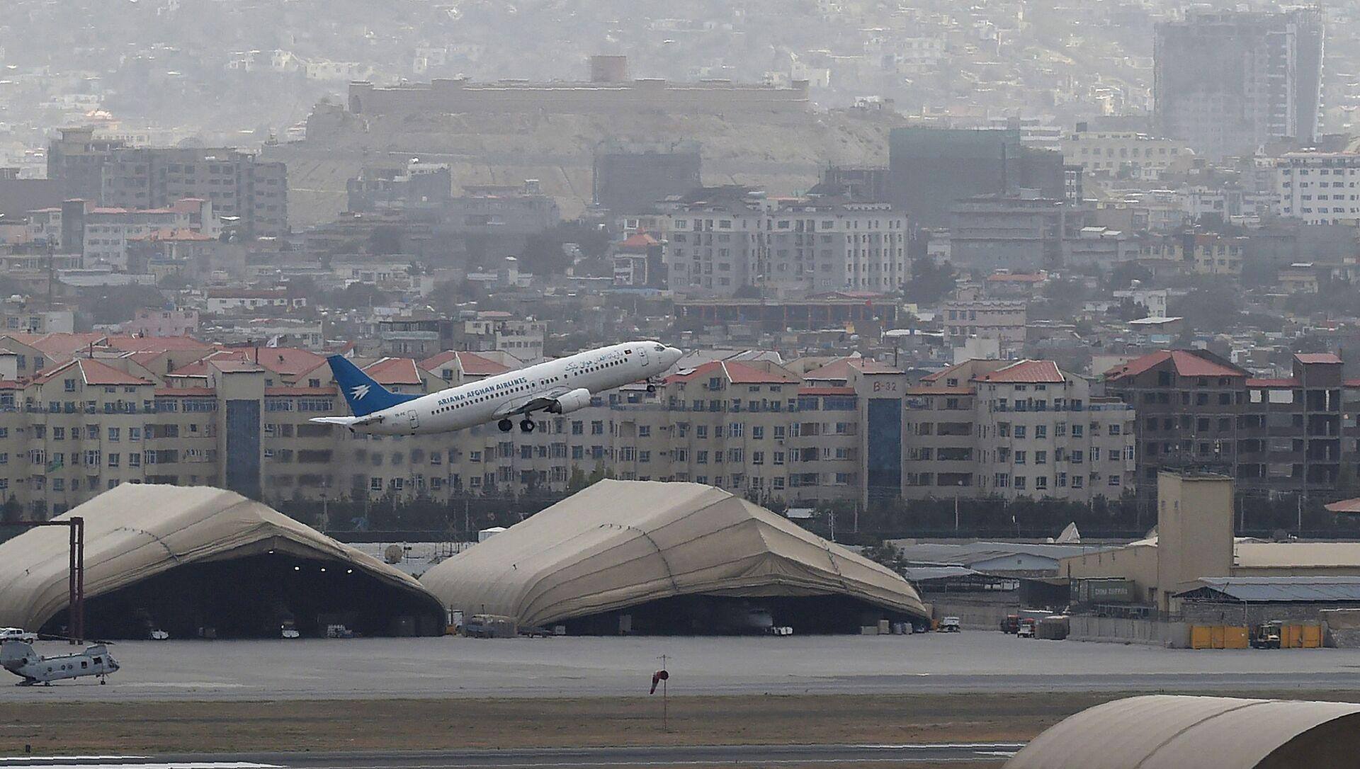 Aéroport de Kaboul, le 14 août 2021 - Sputnik France, 1920, 16.09.2021