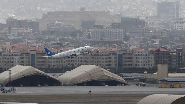 Aéroport de Kaboul, le 14 août 2021 - Sputnik France