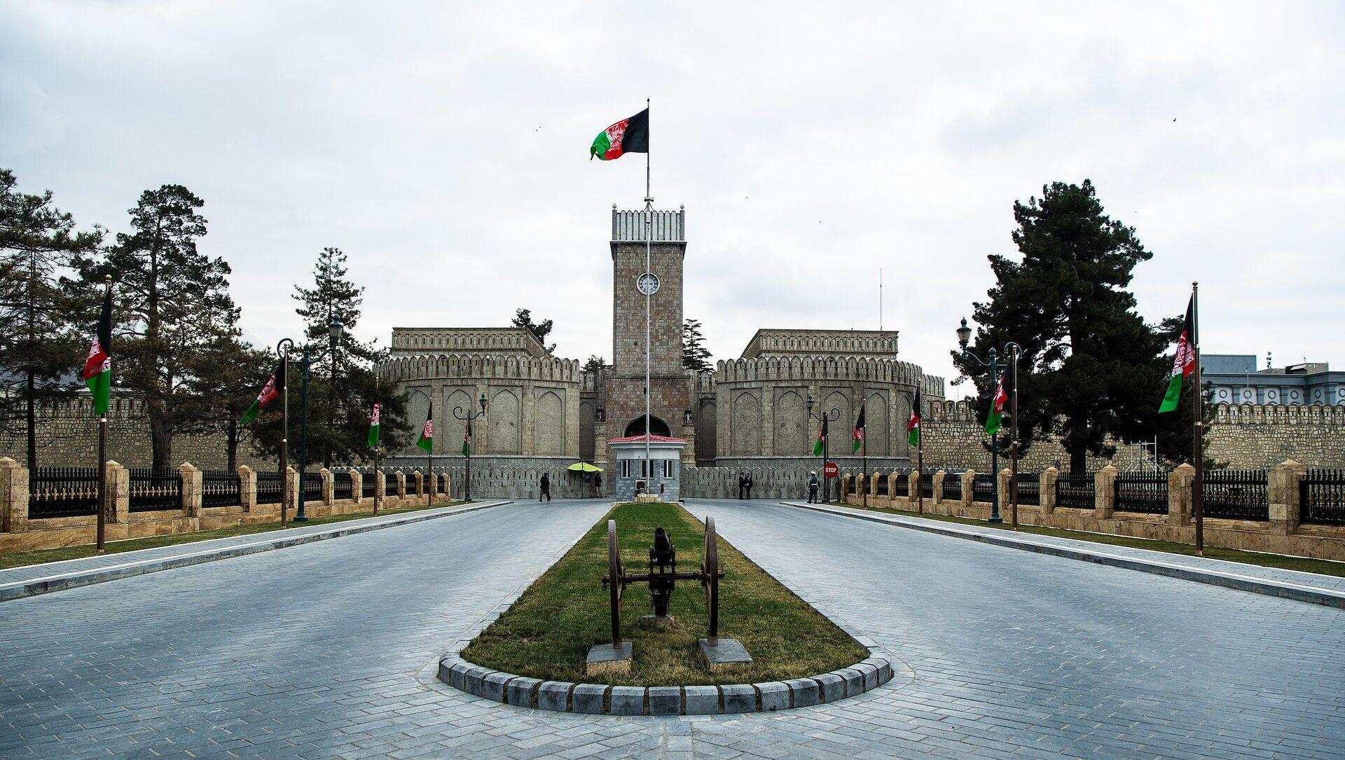 Palais présidentiel de Kaboul (archive photo) - Sputnik France, 1920, 15.08.2021