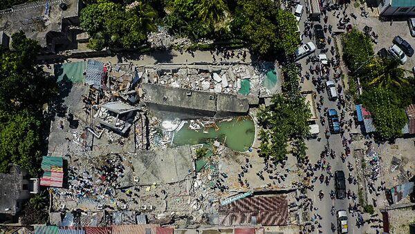 Destructions en Haïti après le séisme, le 14 août 2021 - Sputnik France