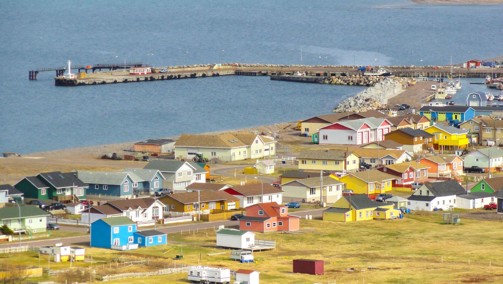 Village de Miquelon-Langlade, collectivité d'outre-mer de Saint-Pierre-et-Miquelon, France - Sputnik France, 1920, 17.08.2021