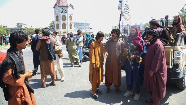 Des talibans à Kaboul (photo d'archives) - Sputnik France