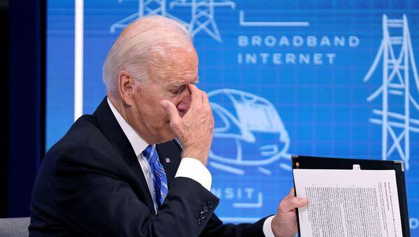 Joe Biden le 11 août 2021 - Sputnik France