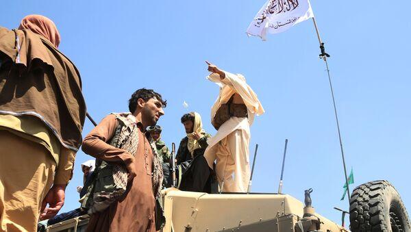 Des talibans à Kaboul - Sputnik France