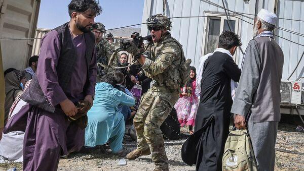 Afghanistan: évacuation des étrangers et d'Afghans  - Sputnik France