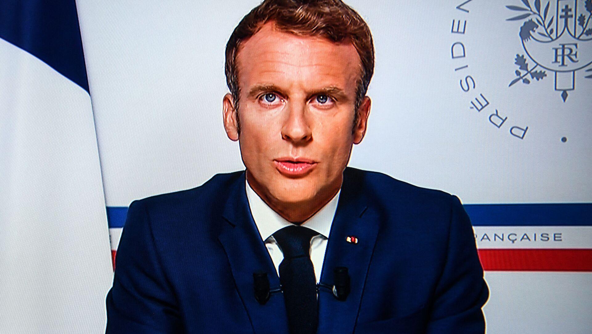 Emmanuel Macron - Sputnik France, 1920, 22.08.2021