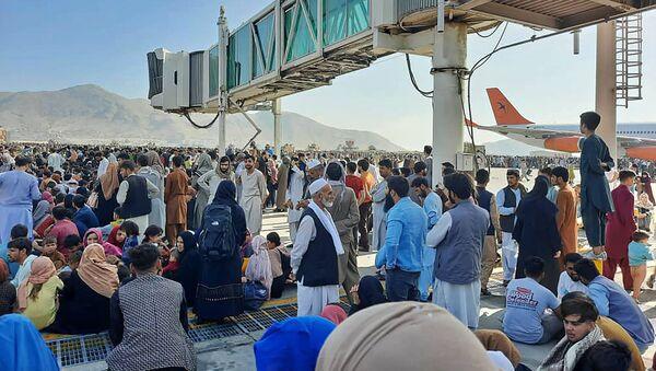 Aéroport de Kaboul le 16 août - Sputnik France