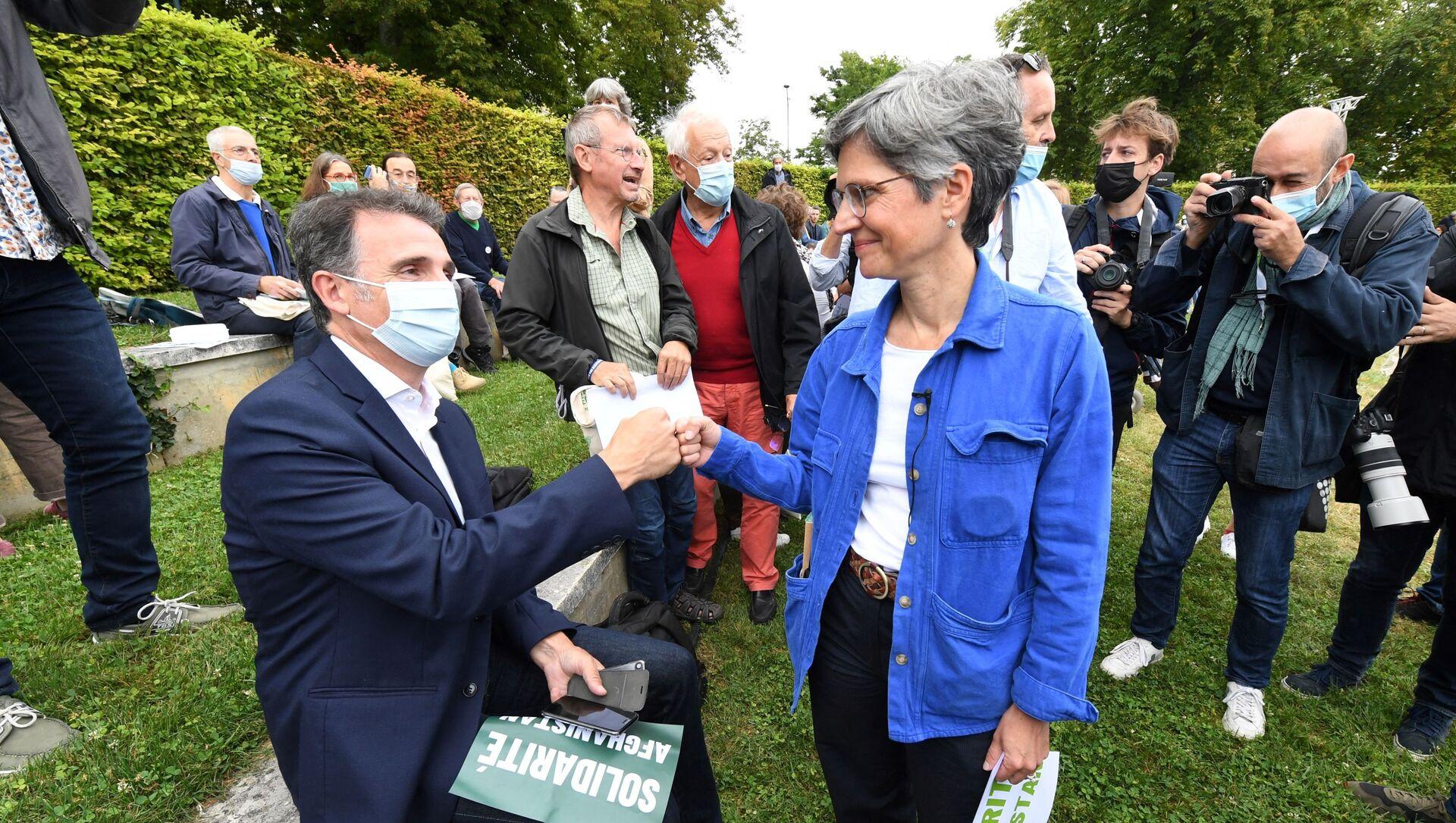 Éric Piolle et Sandrine Rousseau - Sputnik France, 1920, 18.09.2021