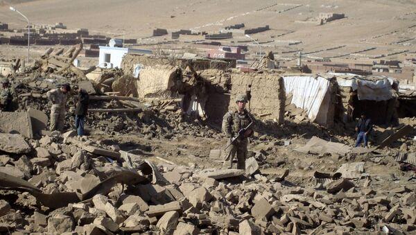 Un soldat américain en Afghanistan - Sputnik France