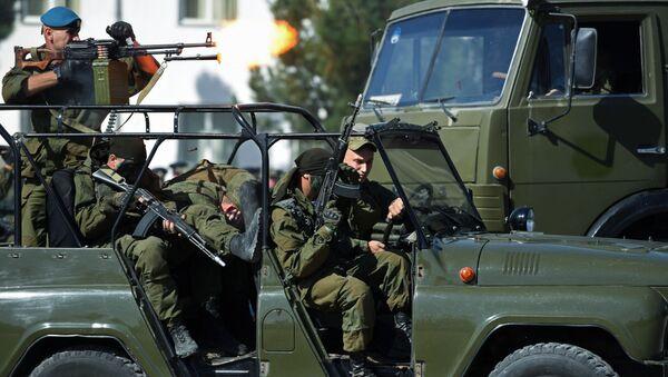 Des militaires de la 201e base militaire russe au Tadjikistan - Sputnik France