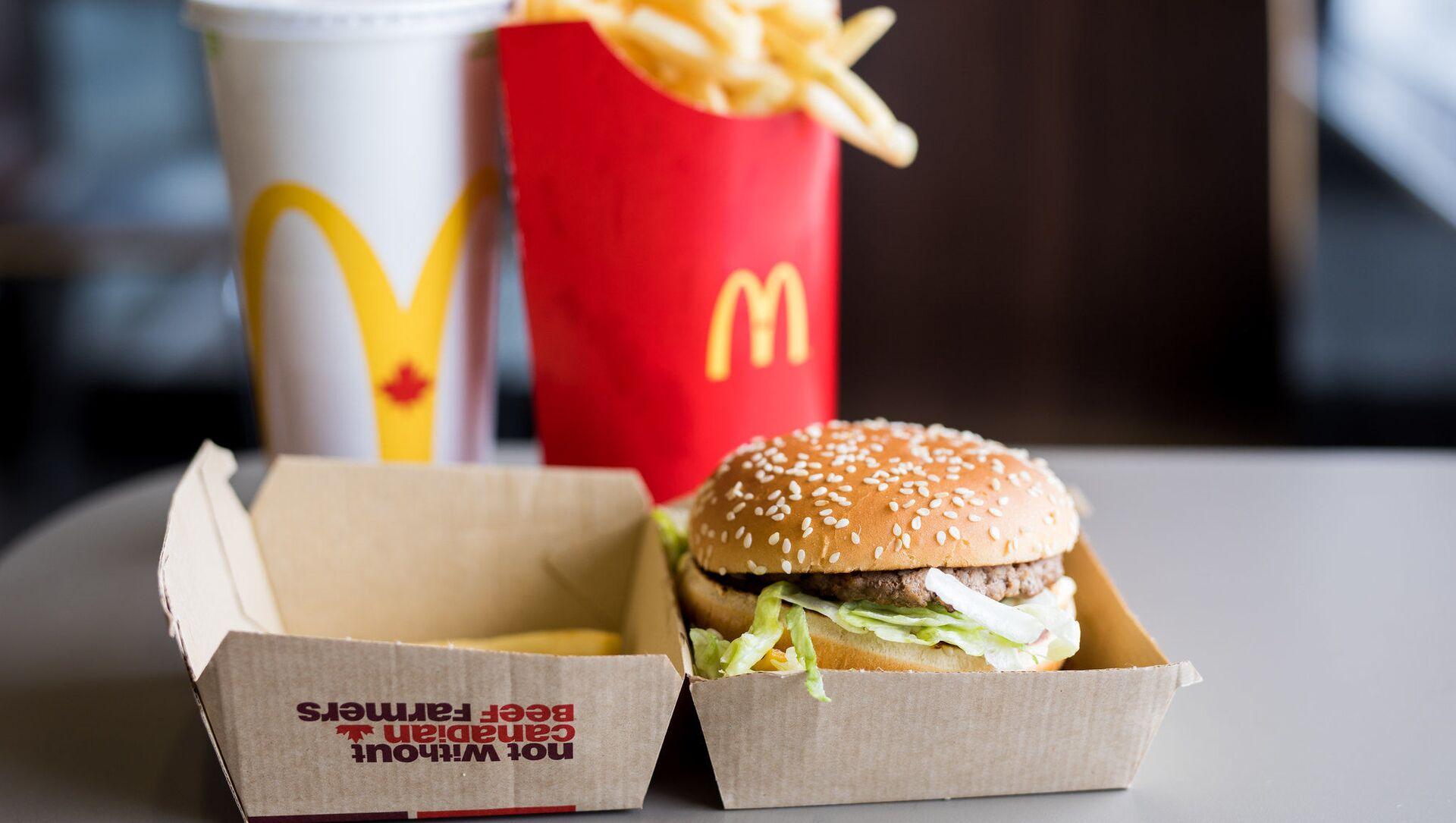 Du fast food à un McDonald's - Sputnik France, 1920, 24.08.2021