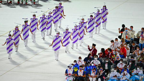 Cérémonie d'ouverture des Jeux paralympiques d'été de Tokyo   - Sputnik France