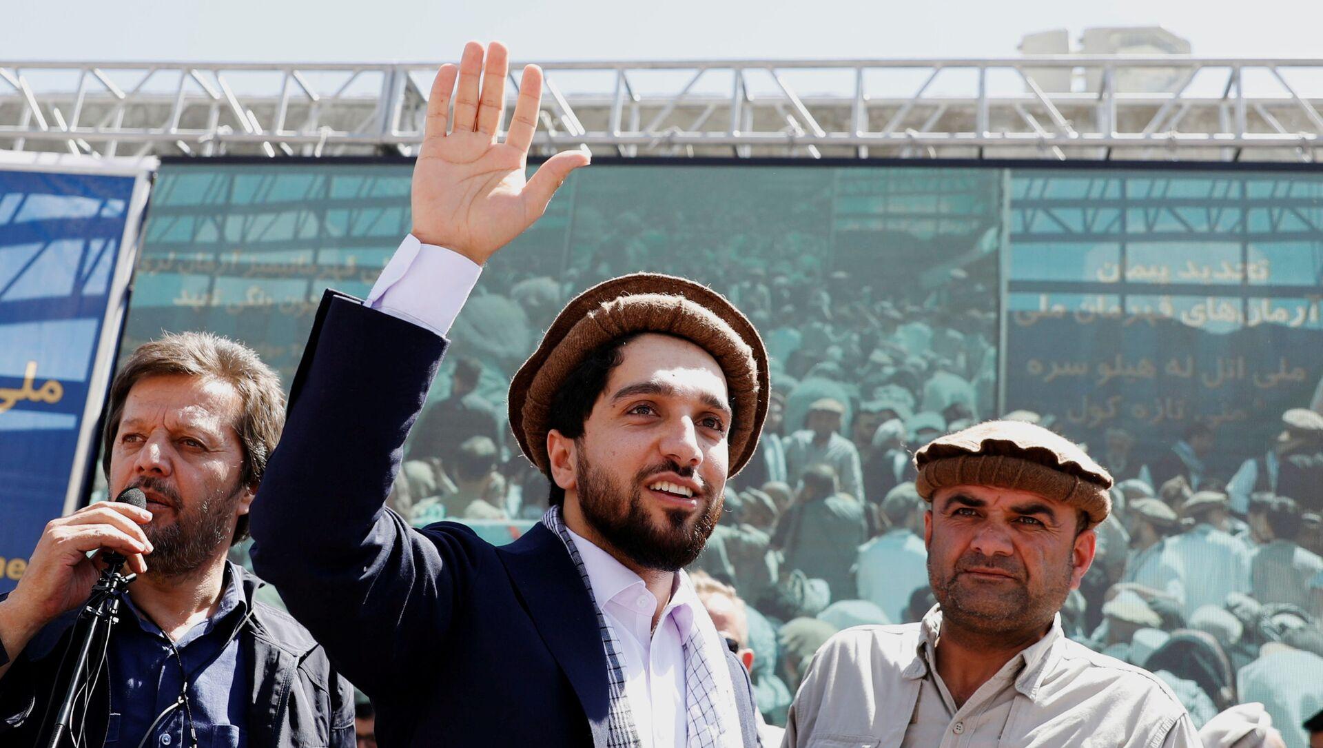 Ahmad Massoud, fils du héros afghan Ahmad Shah Massoud, dans la province du Panchir, Afghanistan, 5 septembre 2019.  - Sputnik France, 1920, 09.09.2021