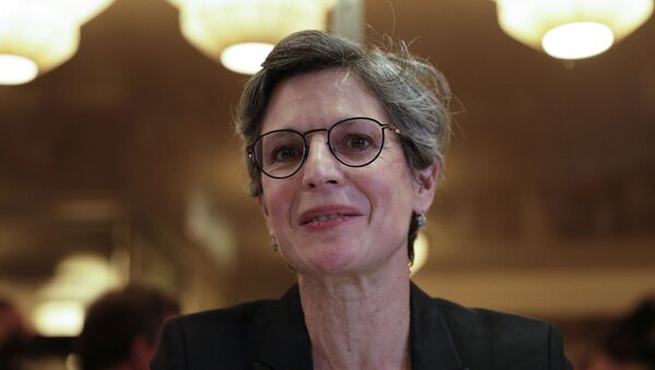 Sandrine Rousseau - Sputnik France