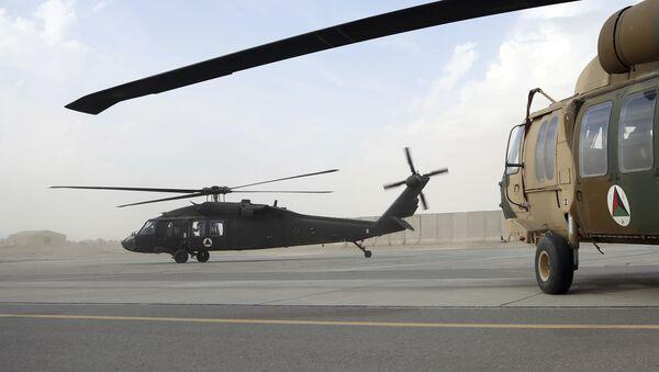 Un hélicoptère américain UH-60 Black Hawk en Afghanistan (archive photo) - Sputnik France