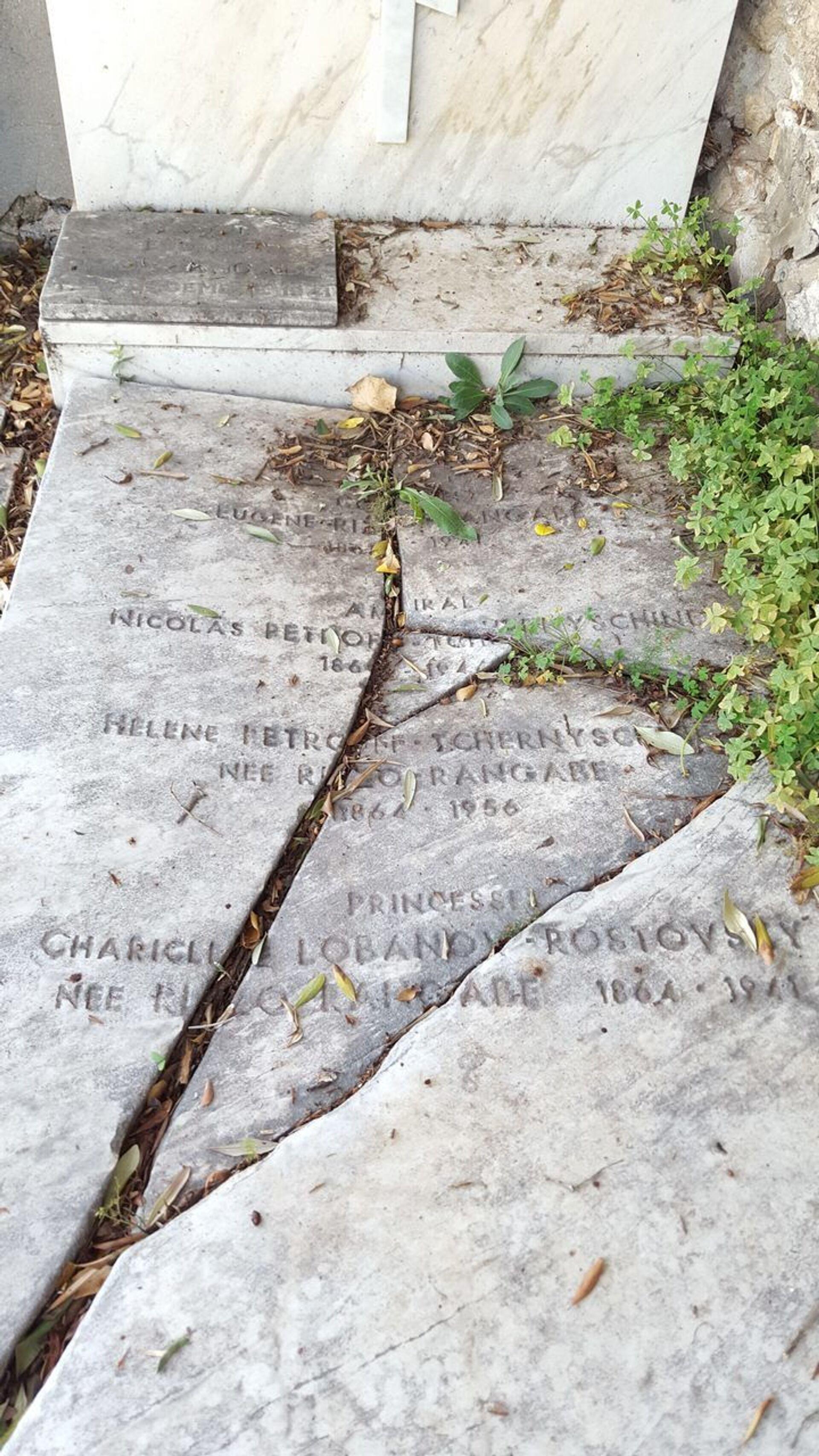 Cimetière Caucade: l'état des enterrements  - Sputnik France, 1920, 21.09.2021