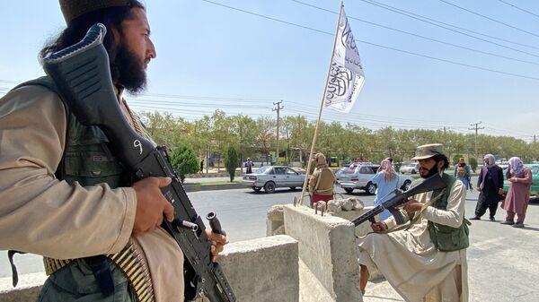 Des talibans à Kaboul, le 17 août 2021 - Sputnik France