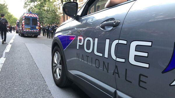 Voiture de police nationale à Paris - Sputnik France