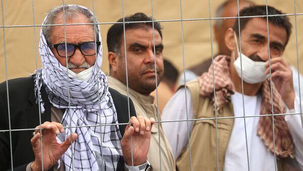 Réfugiés afghans à la base aérienne de Ramstein en Allemagne - Sputnik France