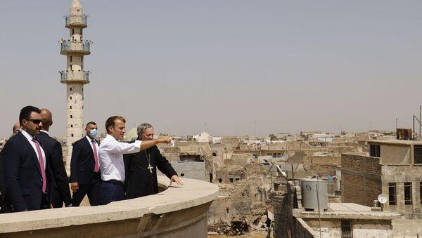 Macron Irak - Sputnik France