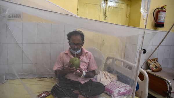 Un patient attent de dengue - Sputnik France
