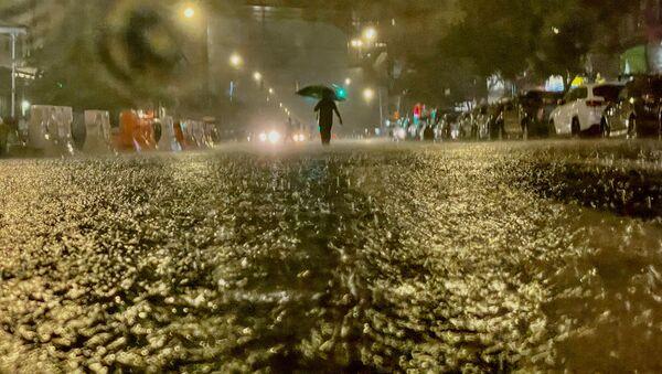 Pluie à New York  - Sputnik France