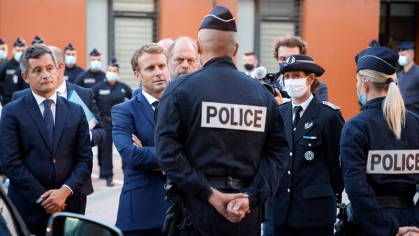 Emmanuel Macron, visite à Marseille - Sputnik France