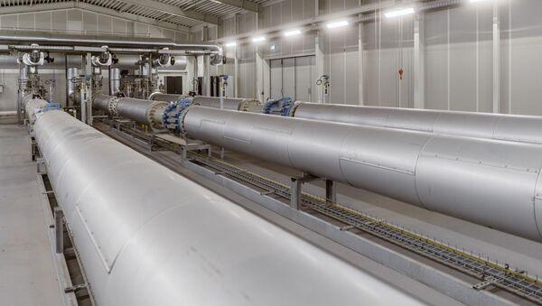 Le gazoduc européen Eugal, qui recevra du gaz du Nord Stream 2 (archive photo) - Sputnik France