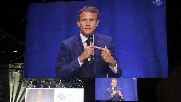 Discours inaugural d'Emmanuel Macron au congrès mondial de la nature de l'IUCN - Sputnik France