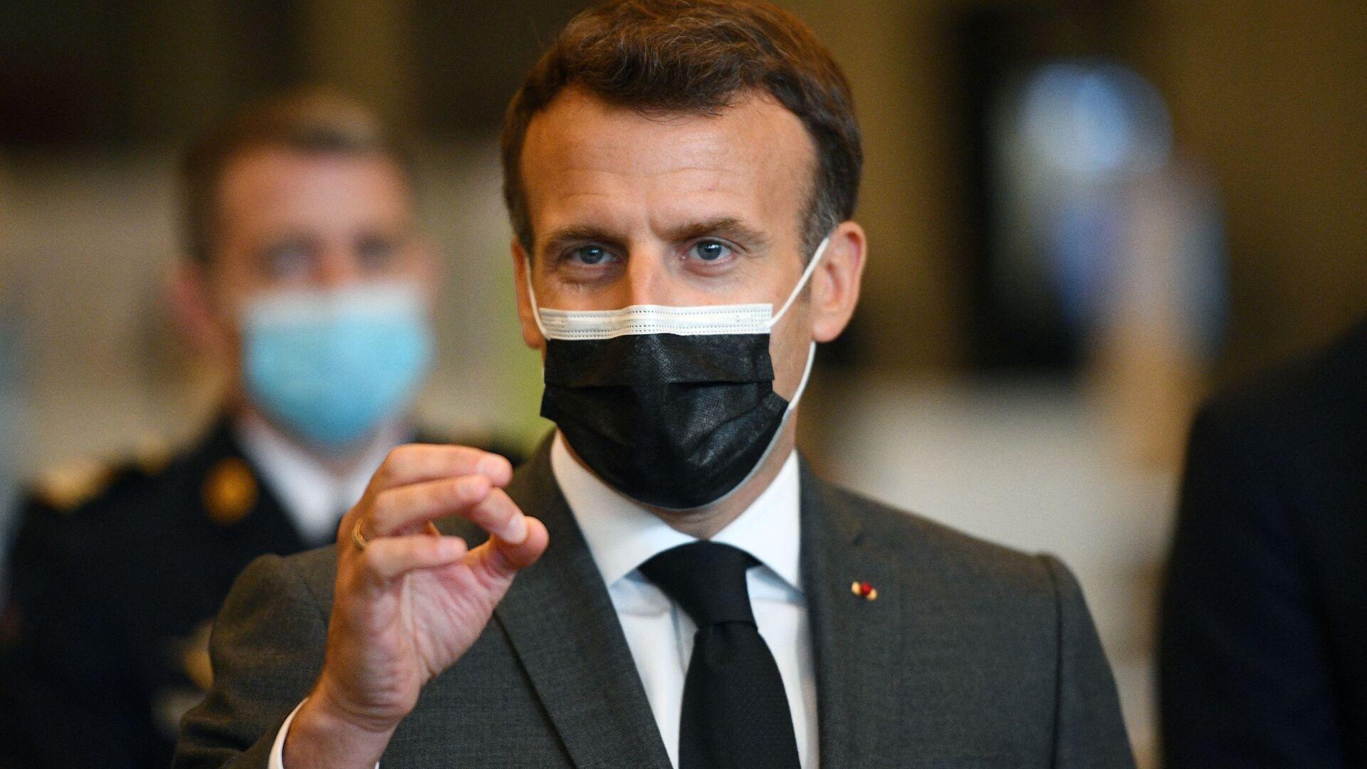 Emmanuel Macron  - Sputnik France, 1920, 22.09.2021