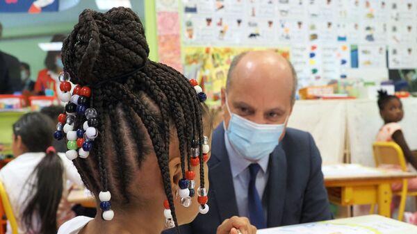 Jean-Michel Blanquer à une école à Chateauroux - Sputnik France