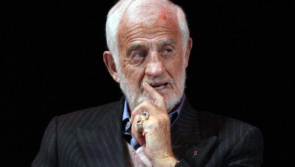 Jean-Paul Belmondo (photo d'archives) - Sputnik France