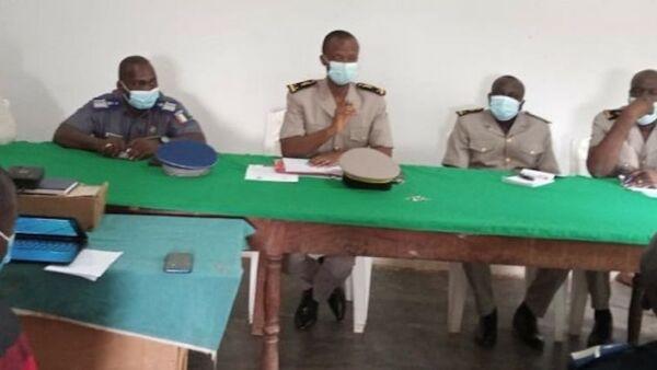 Réunion du Comité départemental de sécurité de Danané, en Côte d'Ivoire - Sputnik France