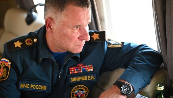 Evguéni Zinitchev, chef du ministère russe des Urgences - Sputnik France