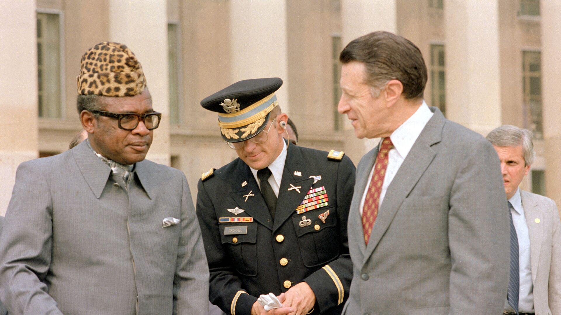 Mobutu Sese Seko en 1983 - Sputnik France, 1920, 08.09.2021