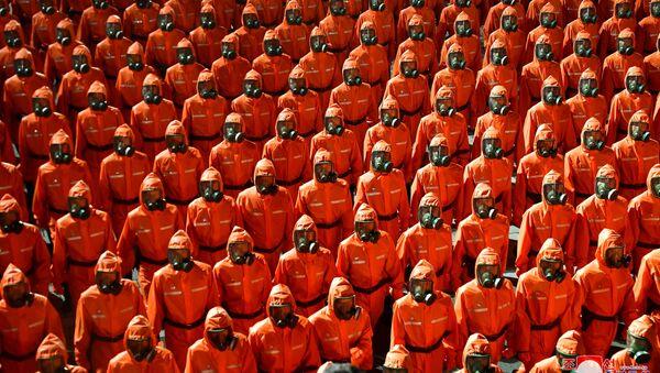 Corée du Nord: défilé militaire à Pyongyang  - Sputnik France