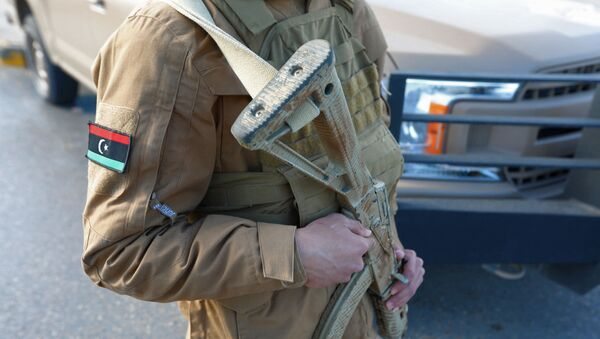 Forces de sécurité libyennes  - Sputnik France