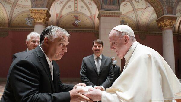 Viktor Orban reçoit le pape le 12 septembre - Sputnik France